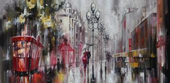 Rainy walks. Sidoriv Zinovij