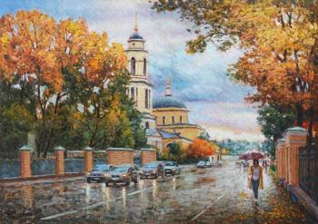 Autumn invites you for a walk (Temples). Razzhivin Igor