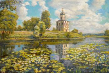 Panov Eduard. The temple on the Nerl