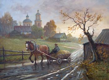 Autumn in the village. Solovyev Sergey
