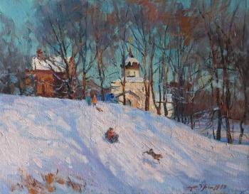 Yurgin Alexander. Winter in Yuryev-Polsky