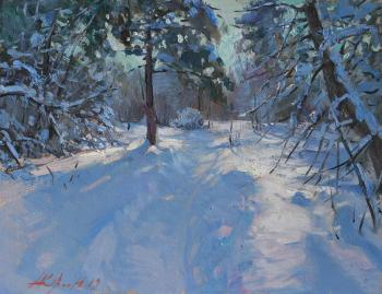 Yurgin Alexander. Winter light
