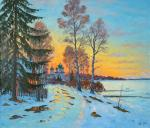 March in Old Ladoga. Alexandrovsky Alexander