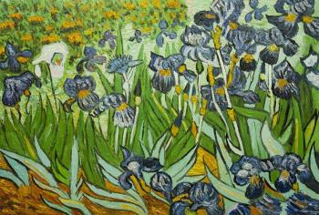 Copy of van Gogh. Irises. Vlodarchik Andjei