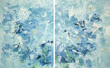 Dupree Brian. Beautiful Storm. Diptych