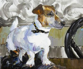 Jack Russell Terrier. Waiting for the Host N3 (Animalistic). Rodries Jose