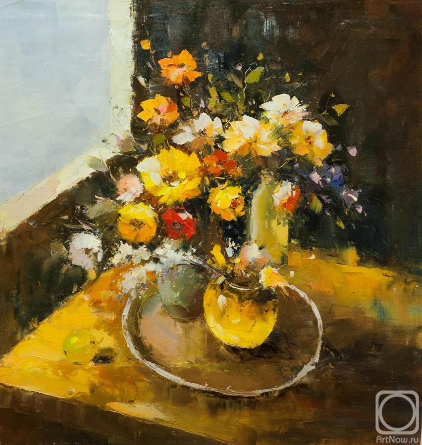 Vevers Christina. Still life in yellow tones