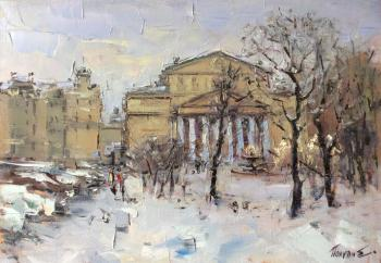 Square near the Bolshoi theater. Poluyan Yelena