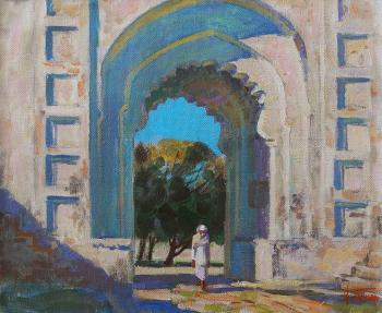 Panov Igor. The South Gate of Rajmahal