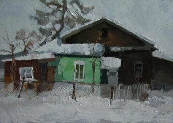 Old house (Spatula). Kokorev Michail