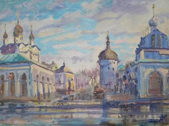 Kovalevscky Andrey. Warm winter in Rostov the Great
