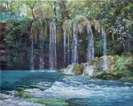 Samokhvalov Alexander. Waterfall in Antalya