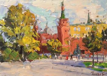September in Moscow. Poluyan Yelena