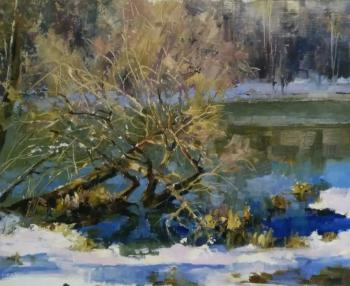 The last snow. Shevtsova Oksana