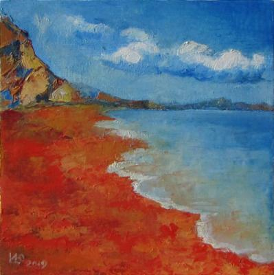 Tselikova Irina. Red coast