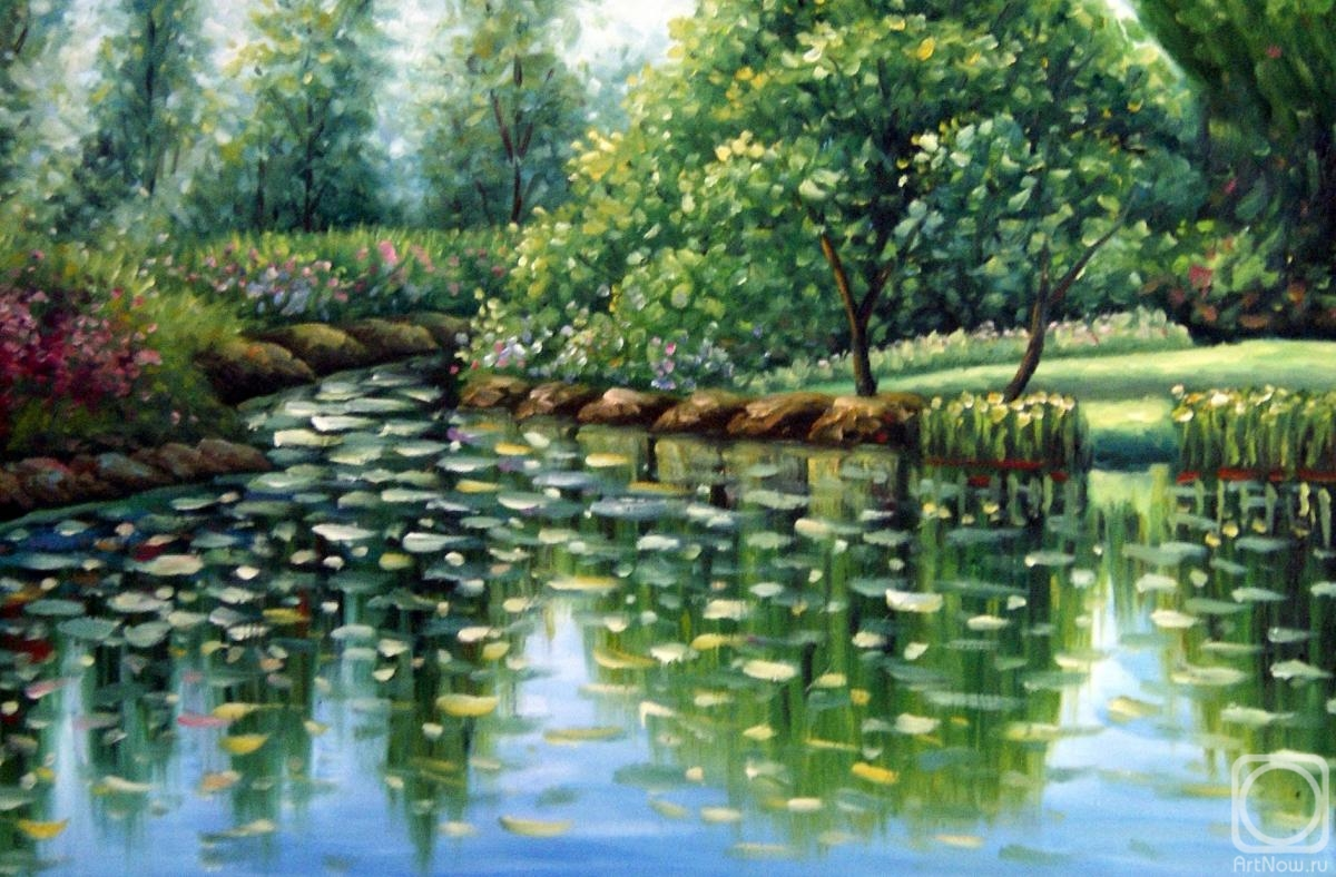 Minaev Sergey. Summer pond