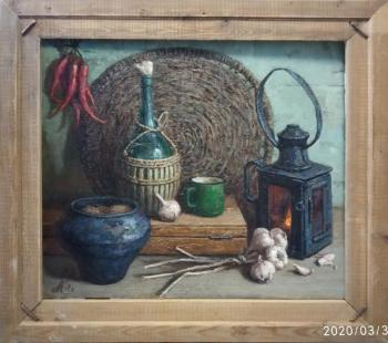 Still life with pepper. Katyshev Anton