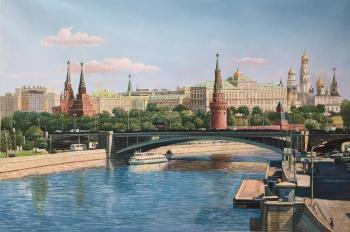View of the Kremlin from the Patriarchal Bridge. Romm Alexandr