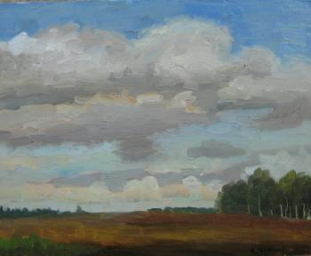 The clouds. August. Chernyy Alexandr