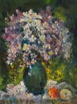Bouquet and apples. Kremer Mark