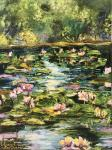 Malivani Diana. Pond with Water Lilies