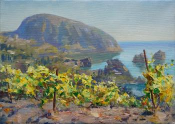 Gurzuf. The vineyards. Katyshev Anton