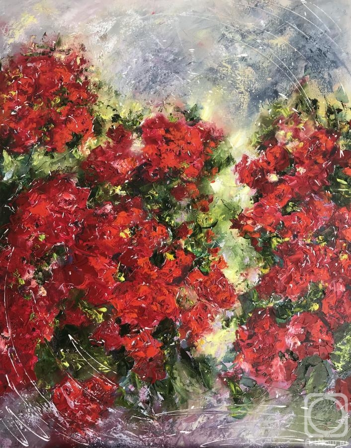 Malivani Diana. Red Roses