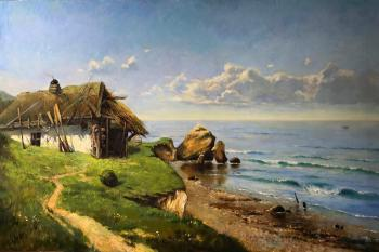 "Copy of Korenev V. F. ""Landscape with Shack"""
