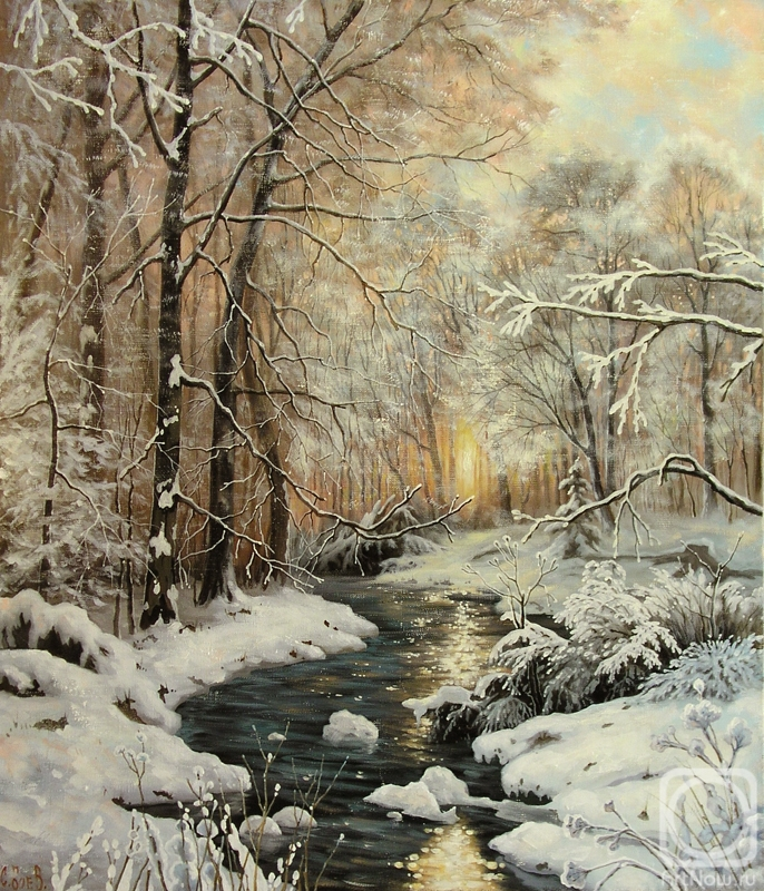 Boev Sergey. Warm winter day
