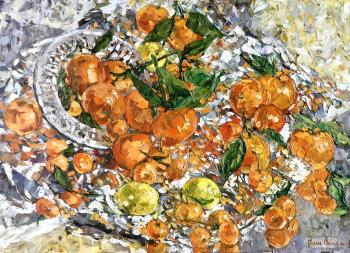 Glow of tangerines. Sedyh Olga