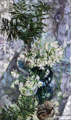 Winter blooming. Sedyh Olga