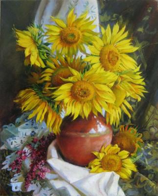 Sunflowers. Manukhina Olga