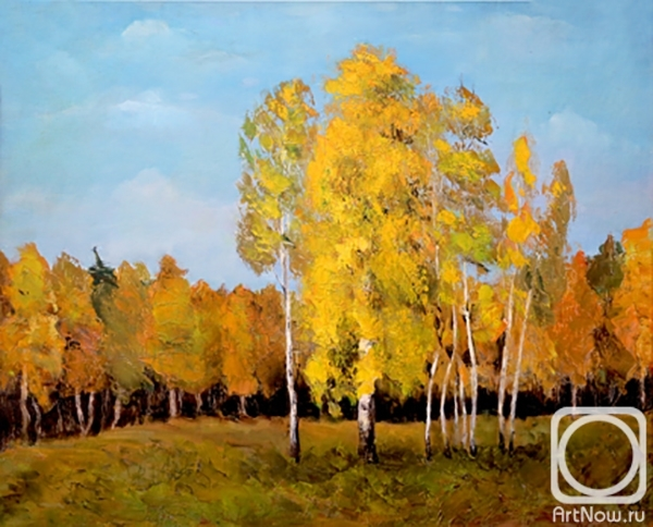 Zakrevskaya Alla. Golden autumn