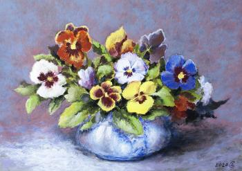 A bunch. Pansy