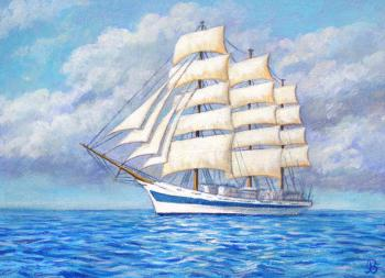 Ledniova Varvara. The Frigate World