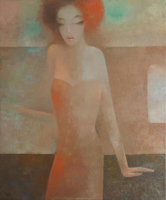 The girl with the red hair. Ivanov Evgeniy
