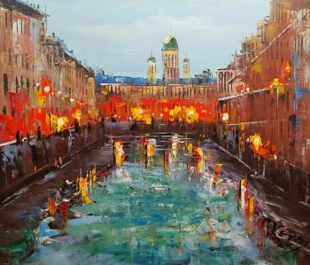 St. Petersburg. After the rain. Vevers Christina