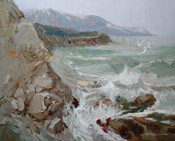 Kovalenko Lina. Sea shore