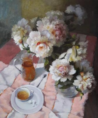 The tea party. Nikolaev Yury