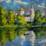 White Church on the shore. Averchenkov Oleg