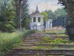Tsvetkova Nadezhda. The old stairs. Botanical garden