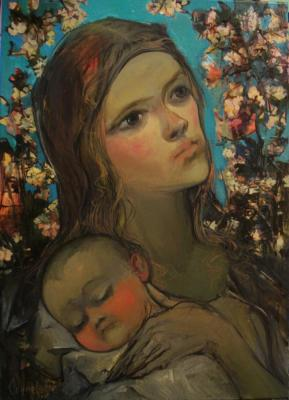 Okuneva Olga. Madonna with thorns