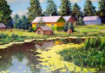 House by the river. Fedosenko Roman