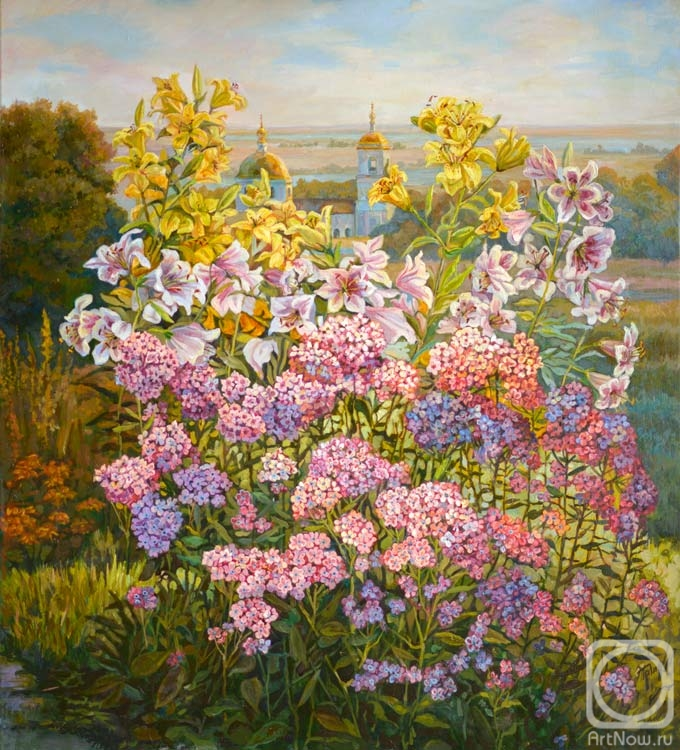 Panov Eduard. Autumn flowers