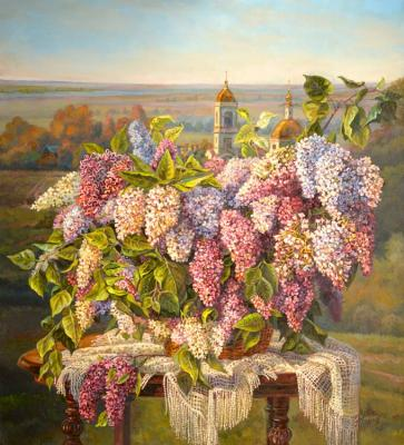 Lilac with lace. Panov Eduard