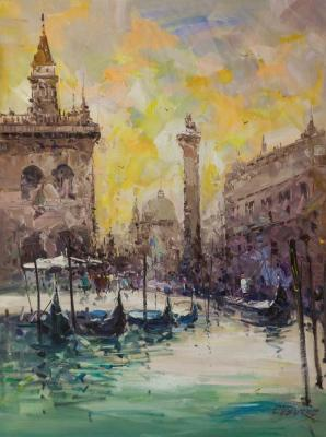 Vevers Christina. Venetian walks. Impression