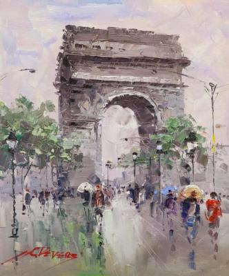 Arc de Triomphe. Vevers Christina