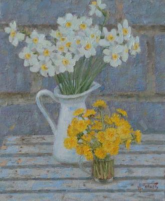 Daffodils and dandelions