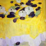Berestova Ksenia. Yellow still life