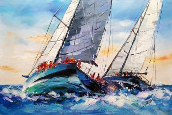 Regatta. Forging ahead N2. Rodries Jose